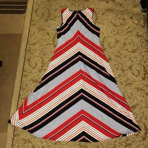 Chaps Stripe Dress